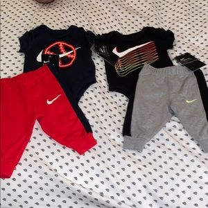 Two Nike outfits
